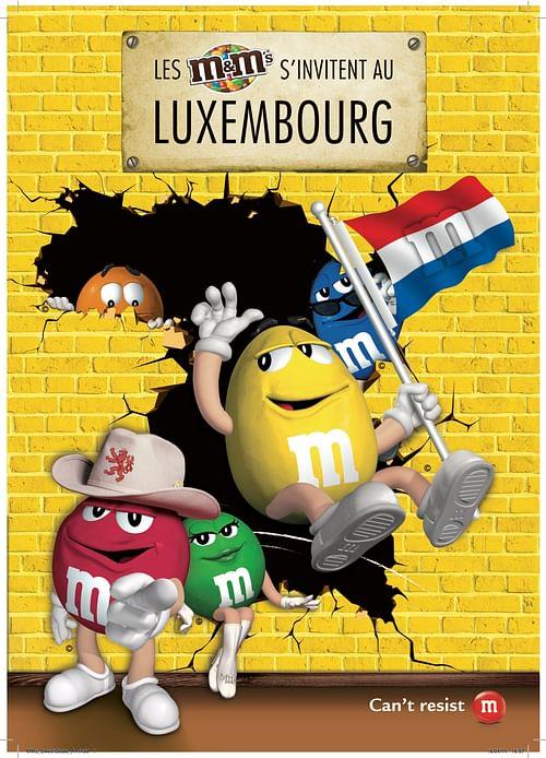 M&Ms Luxembourg - Réseaux sociaux