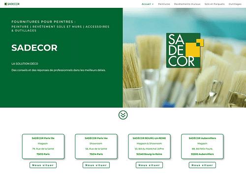 SADÉCOR Paris - Design & graphisme