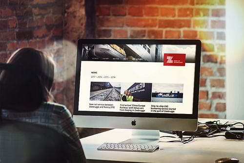 Drupal 8 voor Haven van Zeebrugge - Website Creatie