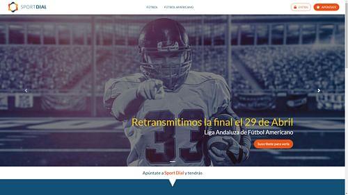 Sport Dial - Creación de Sitios Web