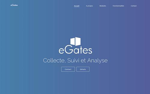 eGates - Web Application