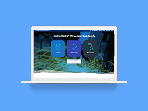 Web Corporativa Formación - Creación de Sitios Web