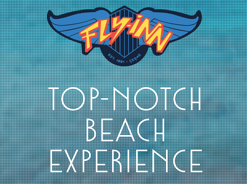 Fly-Inn Beach Website & Other Designs - Website Creation