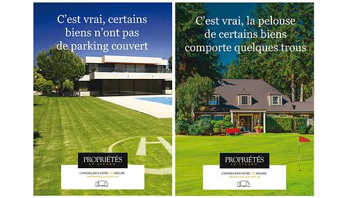 Campagne nationale pour Propriétés Le Figaro - Stratégie de contenu