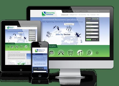 Recruitment Website Design - Website Creation