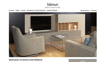 Sitio web hönnun