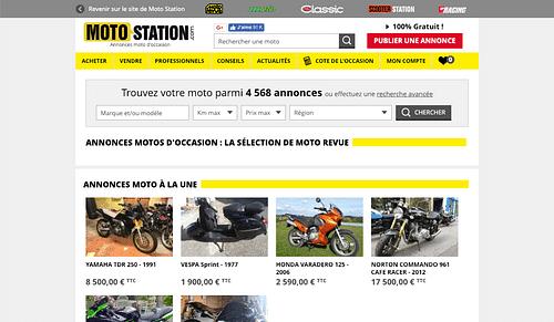 Moto-Revue - Annonces + ecommerce via Wordpress - E-commerce