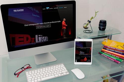 Fred Colantonio website - Création de site internet