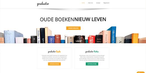 Graduator.be - Website Creatie