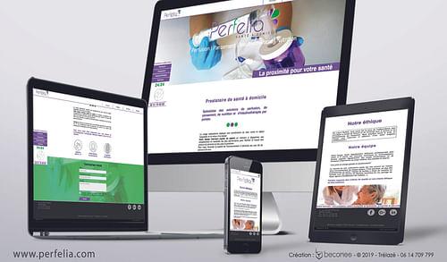 Perfelia.com - Création de site internet