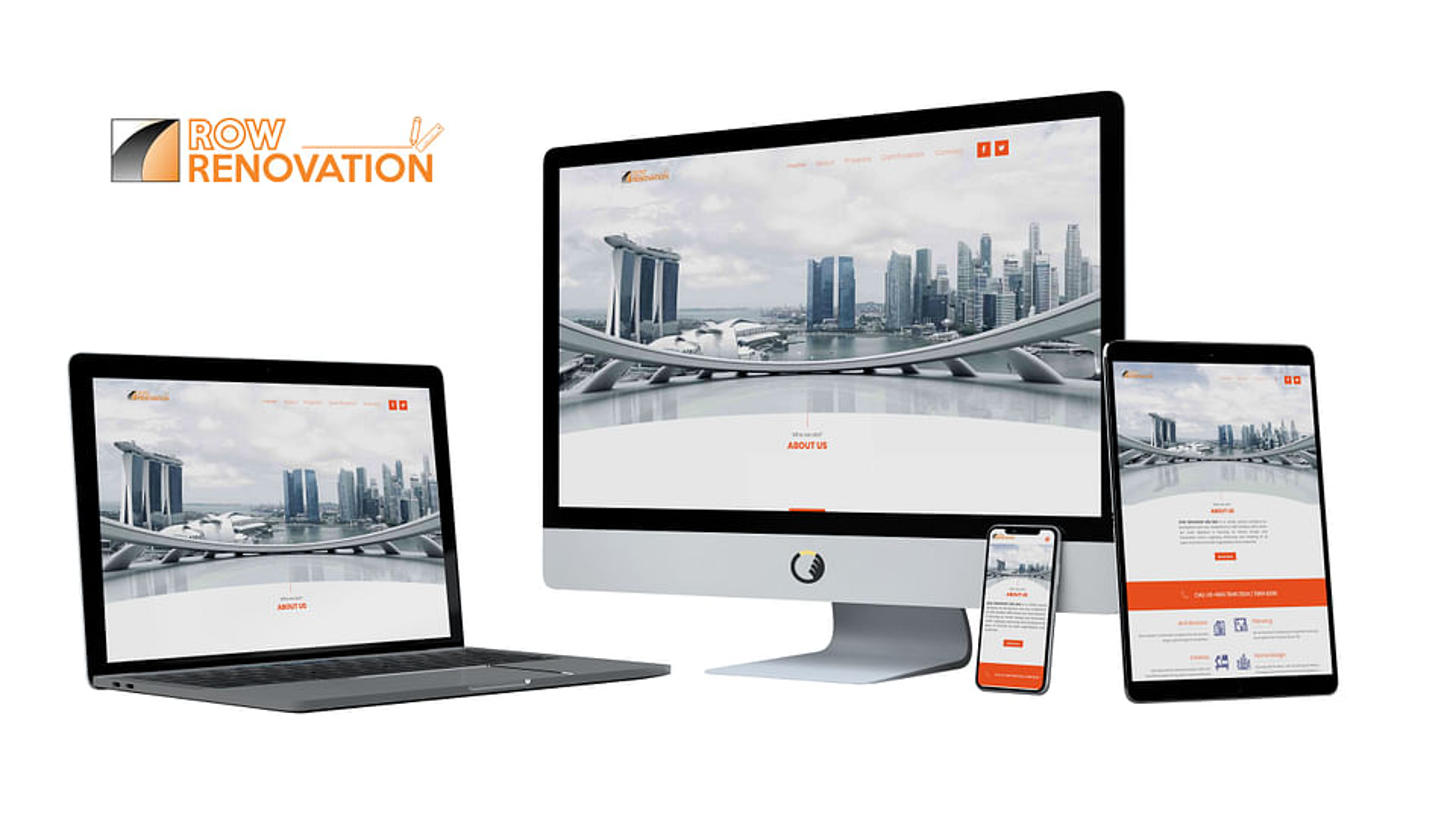 Row Renovation Website