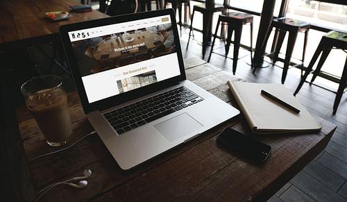Website voor een restaurant - Website Creatie