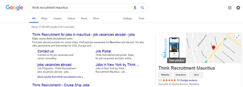 Google Sitelinks   Search Engine Optimization - Website Creation