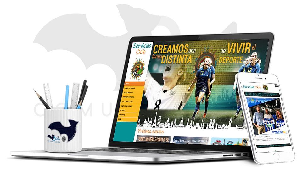 Diseño web www.serviciosocio.com