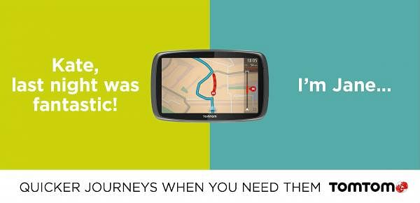 TomTom gives you faster journeys, just when you need them
