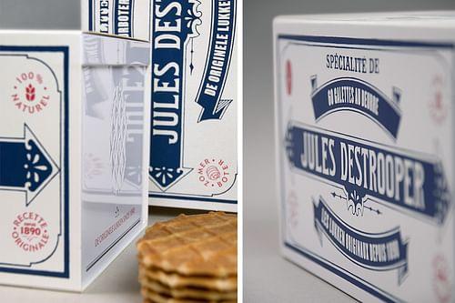 Jules Destrooper 125th anniversary tin box - Ontwerp