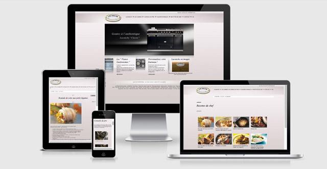 Site internet avec configurateur produit