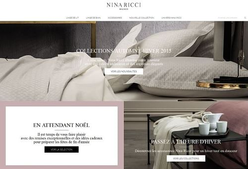 Nina Ricci Maison - E-commerce