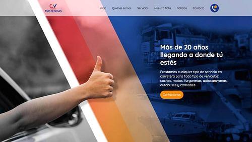 Renovamos el sitio web de CV Asistencia - Creación de Sitios Web
