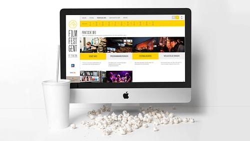 Film Fest Gent - Website Creatie