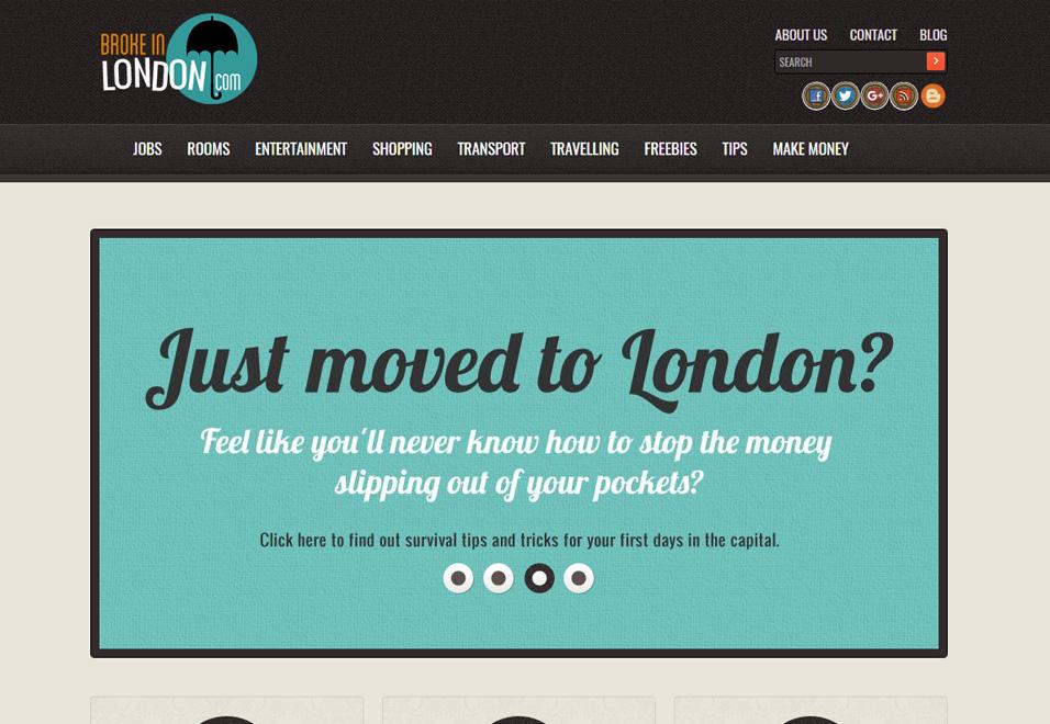 Broke In London - E-commerce