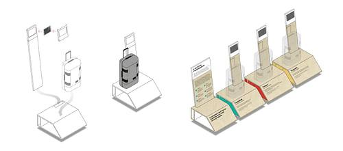Showroom design - Ontwerp