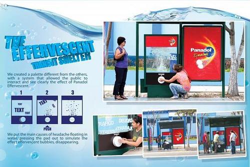 The Efervescent Transit Shelter - Advertising