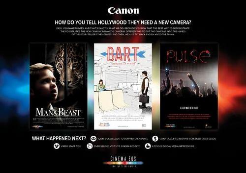 CANON CINEMA EOS - Social Media