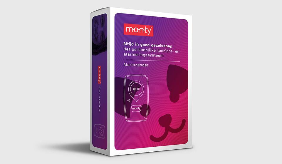 Monty (Medireva) identiteit en verpakkingen