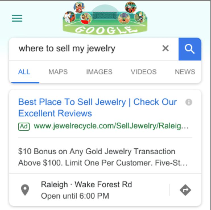 Google search Advertising & Bing Advertising