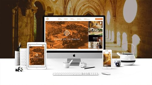 Refonte du Site internet pour Abbaye de Valmagne - Design & graphisme