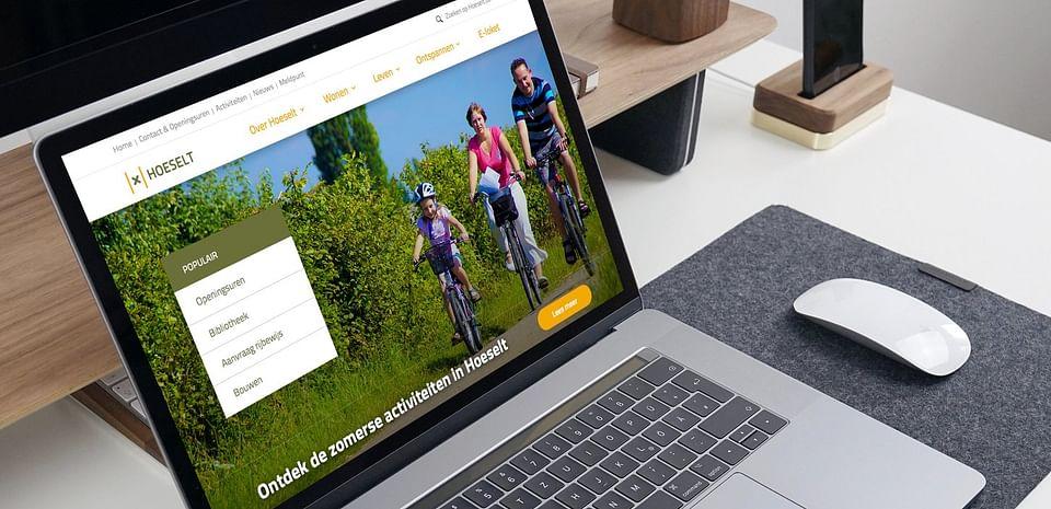 Website voor gemeente Hoeselt