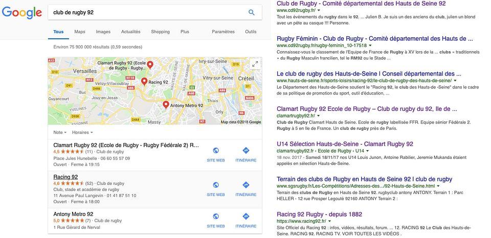 Stratégie digitale pour le Clamart Rugby 92