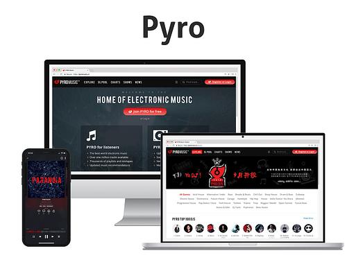 PYRO Music - Mobile App