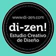 DI-ZEN, diseño gráfico y desarrollo web. logo