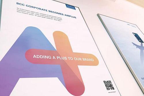 BCC Corporate werd AirPlus - Branding & Positionering