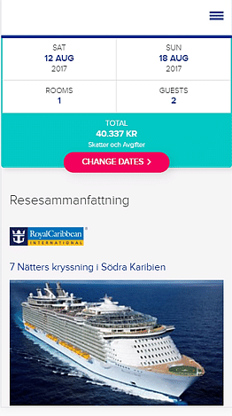 Cruise Booking System With Booking Engine