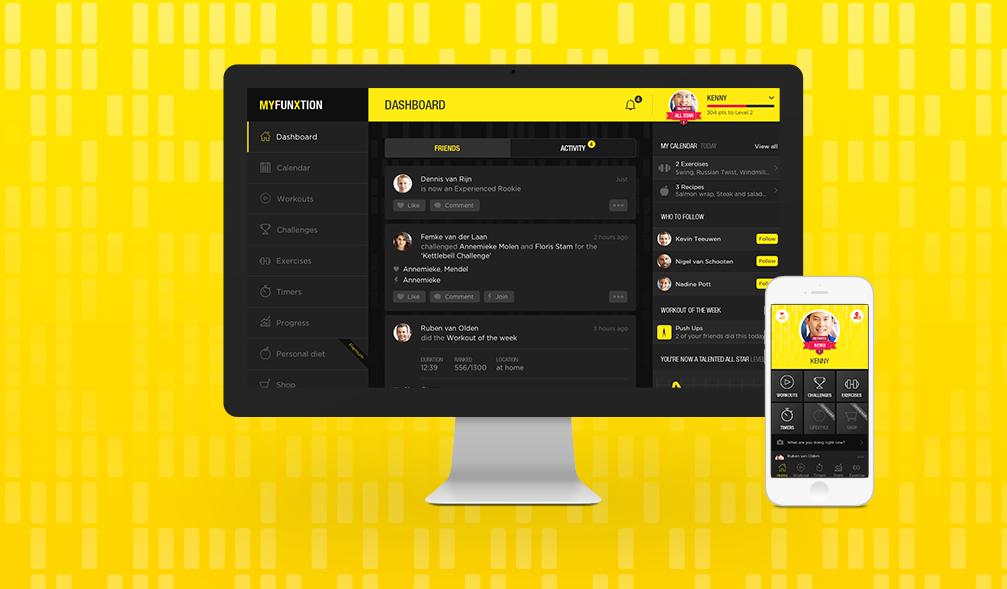 FunXtion Website / App - Website Creatie