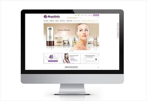 Maquillalia - Desarrollo y Diseño Tienda Online - E-commerce
