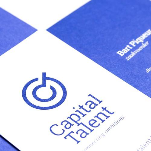 Naam, baseline en branding voor HR-expert Capital - Website Creatie