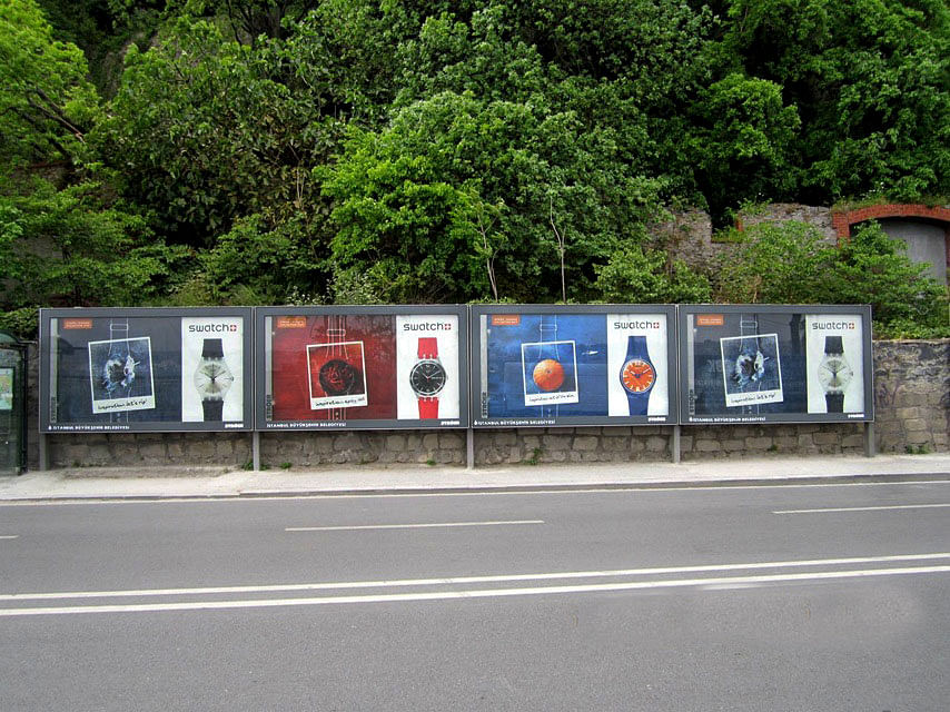Swatch Outdoor Ad