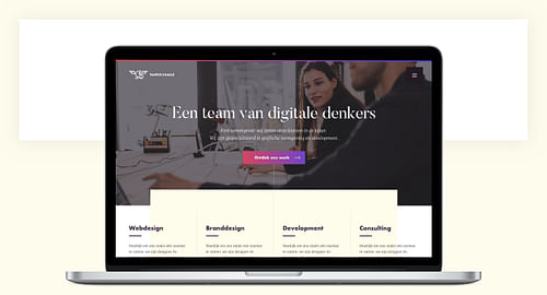 Digital rebranding for an Antwerp-based agency - Création de site internet