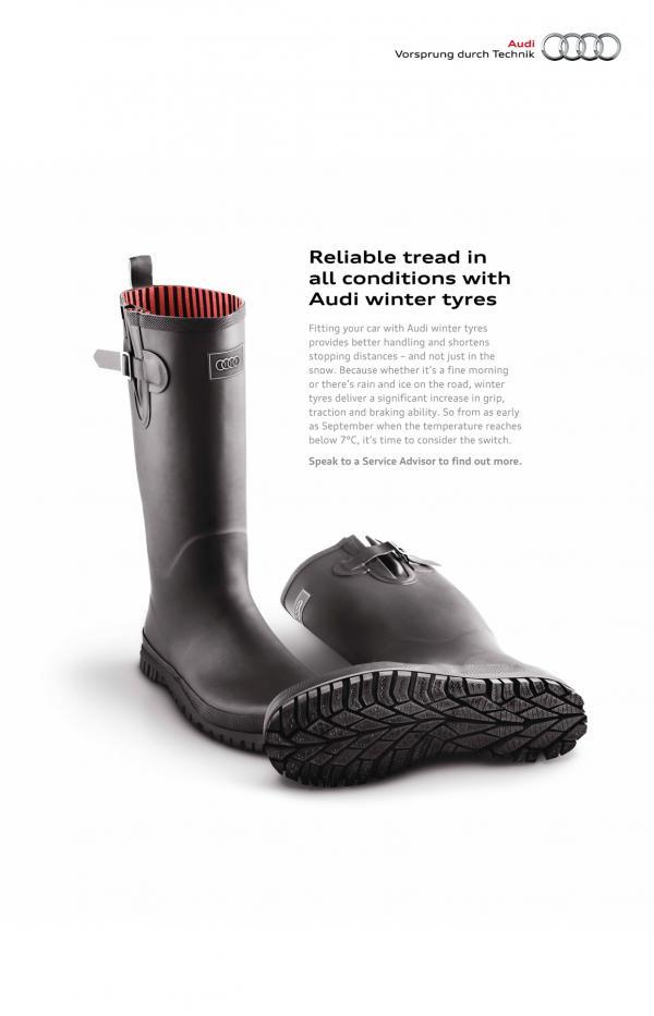 Winter Tyres - Graphic Design