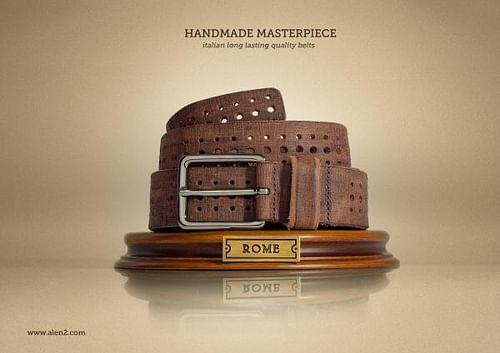 Handmade Masterpiece, Colosseum - Publicidad