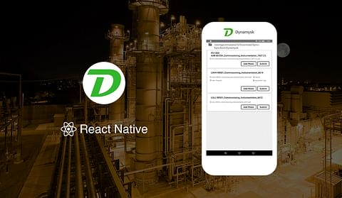 React Native App for Field Workers