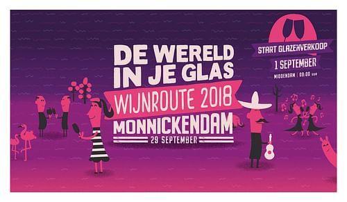 De Wijnroute Monnickendam - Event branding - Branding & Positionering