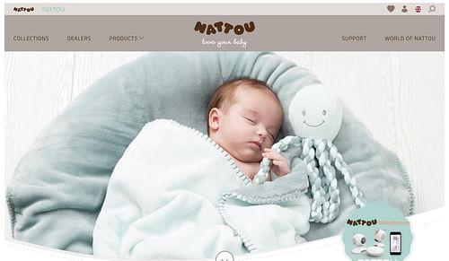 Website ontwikkeling voor Nattou.eu - Website Creatie