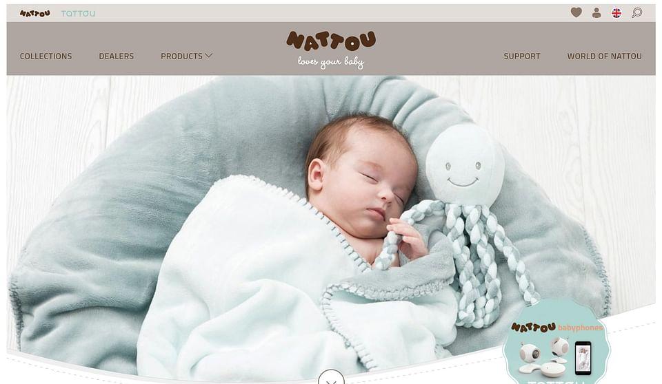 Website ontwikkeling voor Nattou.eu
