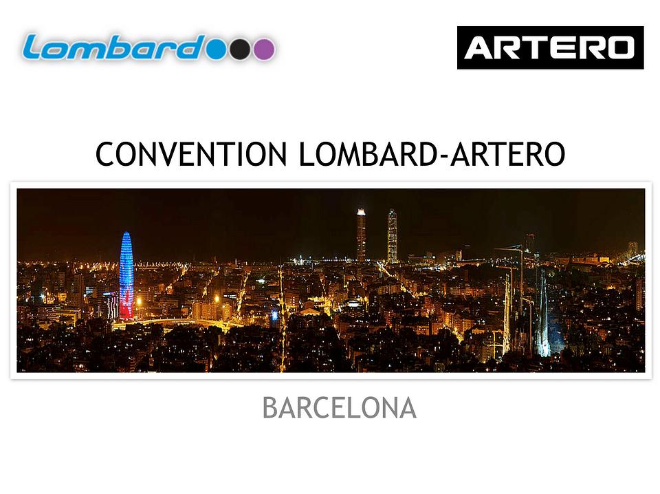 CONVENTION LOMBARD-ARTERO (SUECIA)