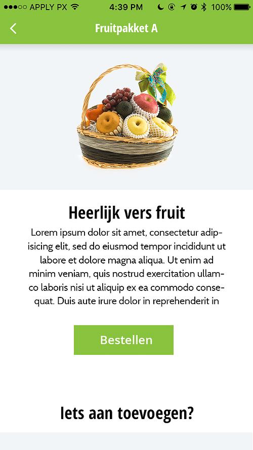 Fruitbezorgd: maatwerk Magento webshop en app - E-commerce